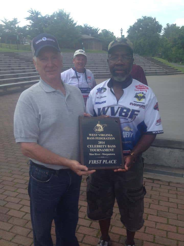 Joe Statler is 2015 Monongahela River Pro-Am Bass Tournament.