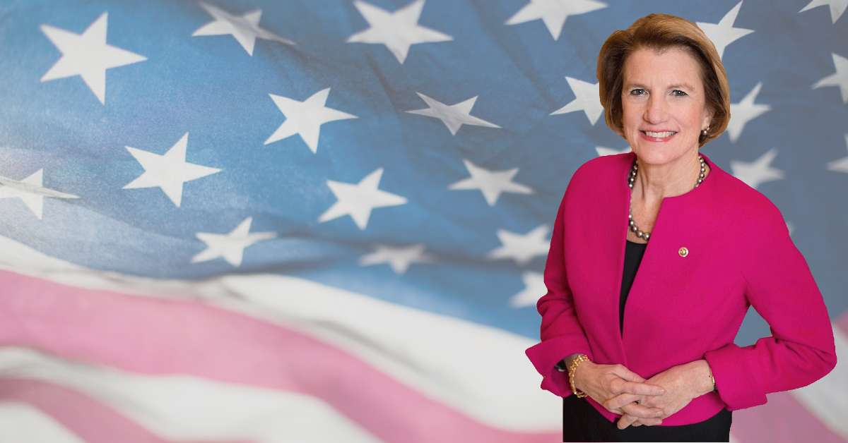 US Senator Shelley Moore Capito.